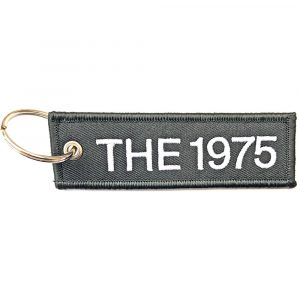 The 1975 Keyring: Logo (Double Sided Patch)