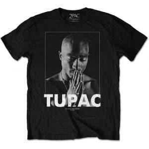Tupac Mens T-Shirt: Praying (XX-Large)