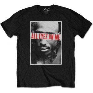 Tupac Mens T-Shirt: All Eyez (XXX-Large)
