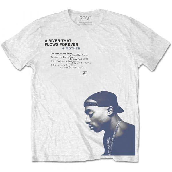 Tupac Mens T-Shirt: A River … (XX-Large)