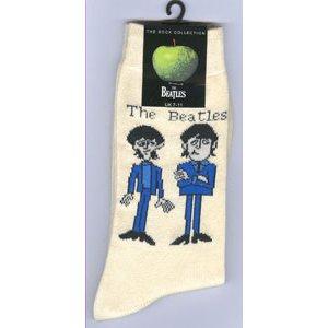 The Beatles Unisex Ankle Socks: Cartoon Standing (UK Size 7 - 11)