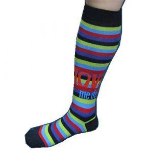 The Beatles Ladies Knee High Socks: Love Me Do (UK Size 4 - 7)
