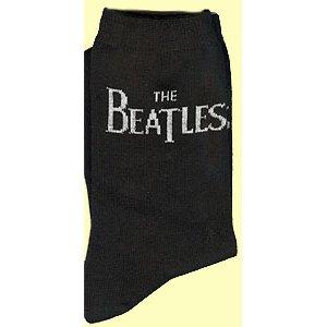 The Beatles Ladies Ankle Socks: Drop T Logo (UK Size 4 - 7)