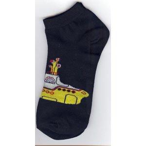 The Beatles Ladies Ankle Socks: Yellow Submarine (UK Size 4 - 7)