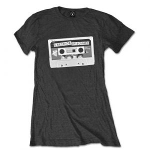 5 Seconds of Summer Ladies T-Shirt: Tape (Skinny Fit) (X-Large)