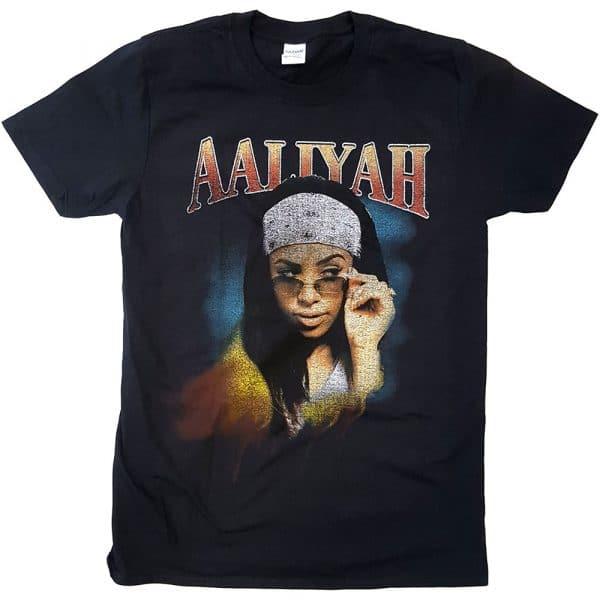 Aaliyah Mens T-Shirt: Trippy (XX-Large)