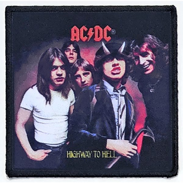 AC/DC Standard Patch: Highway To Hell (Album Cover)