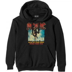 AC/DC Mens Pullover Hoodie: Blow Up Your Video (XX-Large)