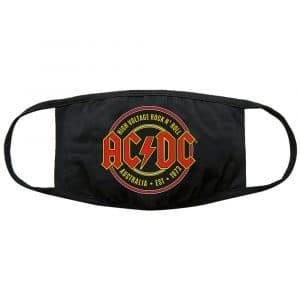 AC/DC Face Mask: Est. 1973