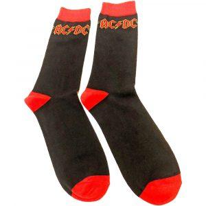 AC/DC Unisex Ankle Socks: Classic Logo (UK Size 7 - 11)