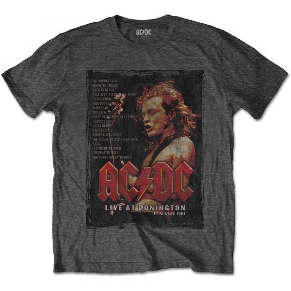 AC/DC Mens T-Shirt: Donington Set (XX-Large)