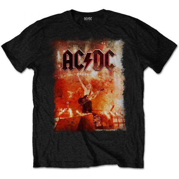 AC/DC Mens T-Shirt: Live Canons (XX-Large)