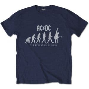 AC/DC Mens T-Shirt: Evolution of Rock (XX-Large)
