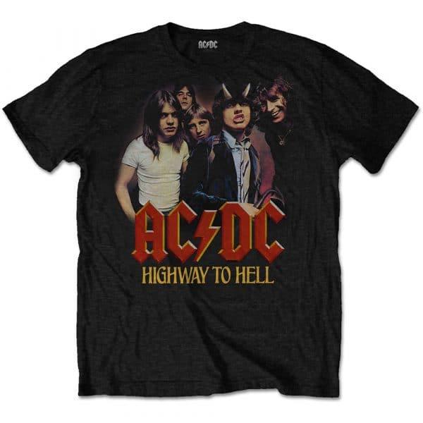 AC/DC Mens T-Shirt: H2H Band (XX-Large)