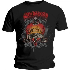 Alice Cooper Mens T-Shirt: Schools Out Dagger (XX-Large)