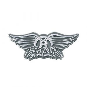 Aerosmith Pin Badge: Wings