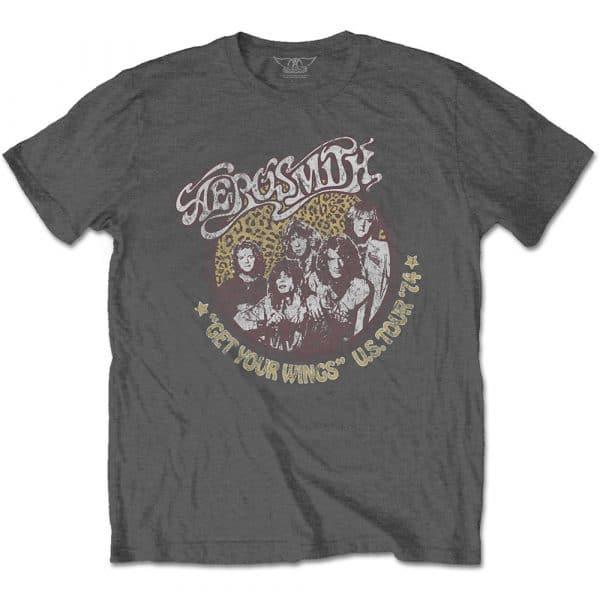 Aerosmith Mens T-Shirt: Cheetah Print (XX-Large)