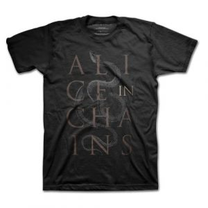 Alice In Chains Mens T-Shirt: Snakes