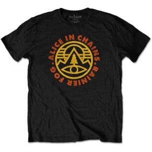 Alice in Chains Mens T-Shirt: Pine Emblem (XX-Large)