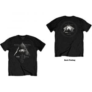 Alice In Chains Mens T-Shirt: Fog Mountain (Back Print) (XX-Large)