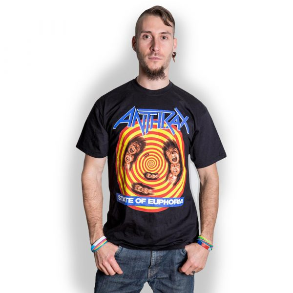 Anthrax Mens T-Shirt: State of Euphoria (XX-Large)