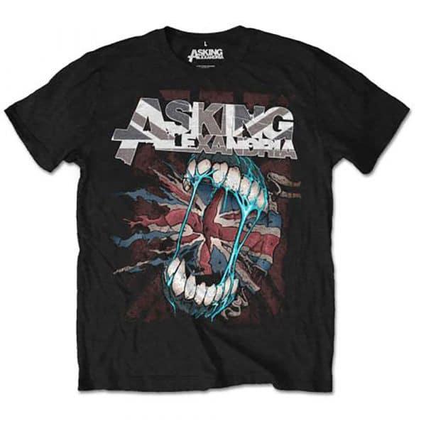 Asking Alexandria Mens T-Shirt: Flag Eater (Retail Pack) (XX-Large)
