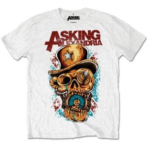 Asking Alexandria Mens T-Shirt: Stop The Time (Retail Pack) (XX-Large)