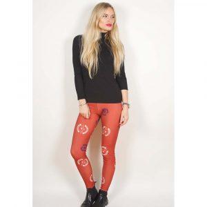 Avenged Sevenfold Ladies Fashion Leggings: Death Bat (Large to X-Large)