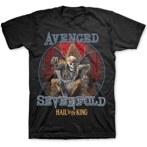 Avenged Sevenfold Mens T-Shirt: Deadly Rule (XX-Large)