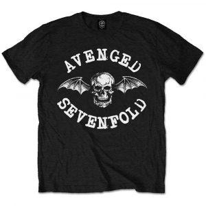 Avenged Sevenfold Mens T-Shirt: Classic Death Bat (XX-Large)