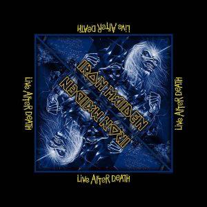 Iron Maiden Unisex Bandana: Live After Death