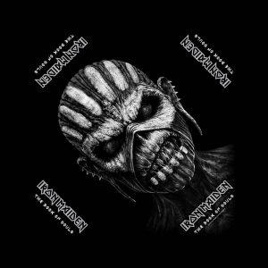 Iron Maiden Unisex Bandana: The Book of Souls