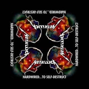 Metallica Unisex Bandana: Hardwired to Self Destruct