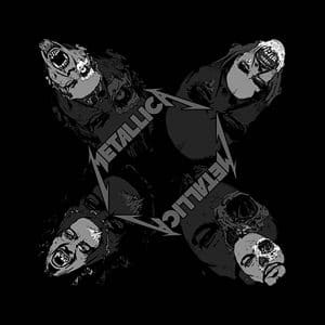 Metallica Unisex Bandana: Undead