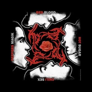 Red Hot Chili Peppers Unisex Bandana: Blood Sugar Sex Magik