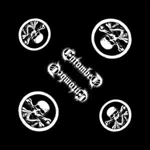 Entombed Unisex Bandana: Skull Logo