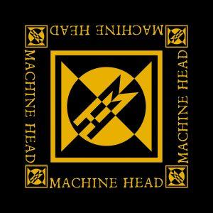 Machine Head Unisex Bandana: Diamond Logo