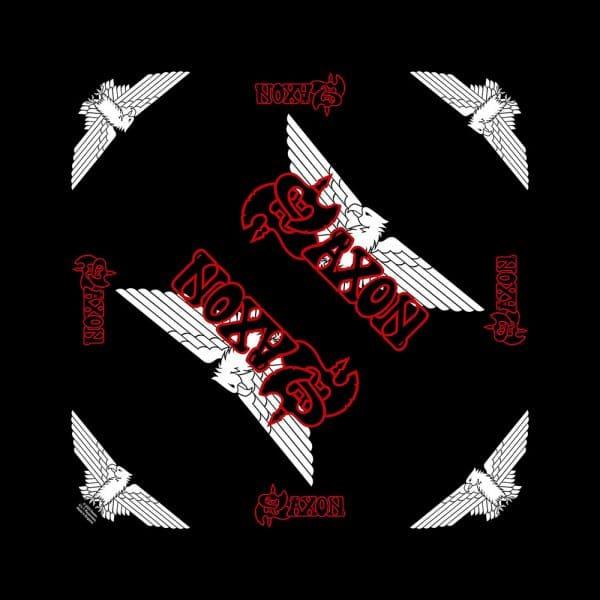 Saxon Unisex Bandana: Logo/Eagle