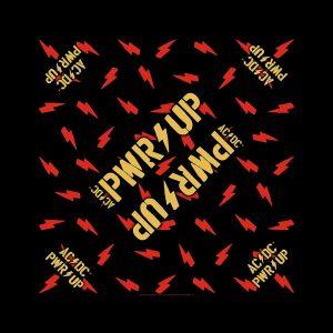 AC/DC Unisex Bandana: PWR-UP