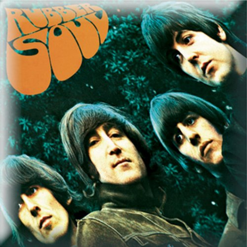 The Beatles Pin Badge: Rubber Soul