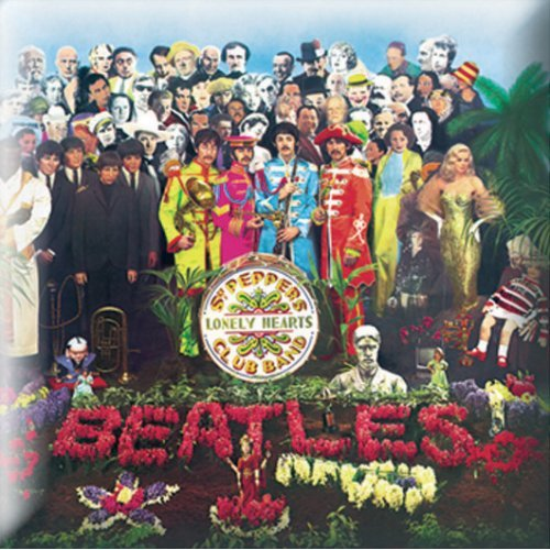 The Beatles Pin Badge: Sgt Pepper