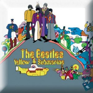 The Beatles Pin Badge: Yellow Submarine