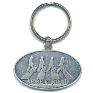 The Beatles Keyring: Abbey Road Crossing (Die-cast Relief)