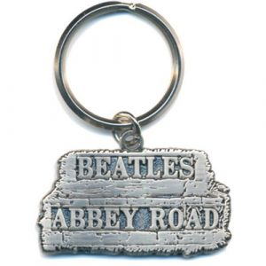 The Beatles Keyring: Abbey Road Sign in relief (Die-cast Relief)