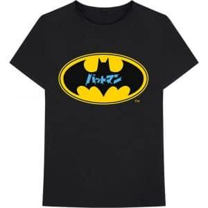 DC Comics Mens T-Shirt: Batman Japanese Logo (XX-Large)