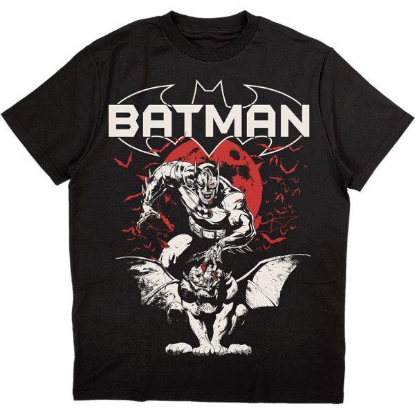 DC Comics Mens T-Shirt: Batman Gargoyle (XX-Large)