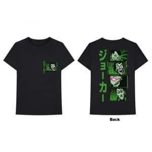 DC Comics Mens T-Shirt: Joker Anime (Back Print) (XX-Large)