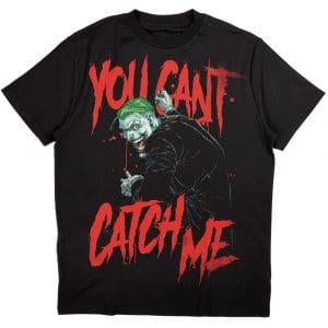 DC Comics Mens T-Shirt: Joker You Can't Catch Me (XX-Large)
