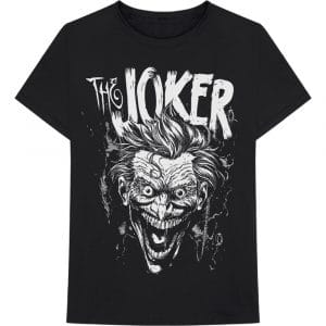 DC Comics Mens T-Shirt: Joker Face (XX-Large)