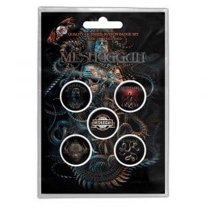 Meshuggah Button Badge Pack: Violent Sleep of Reason (Retail Pack)
